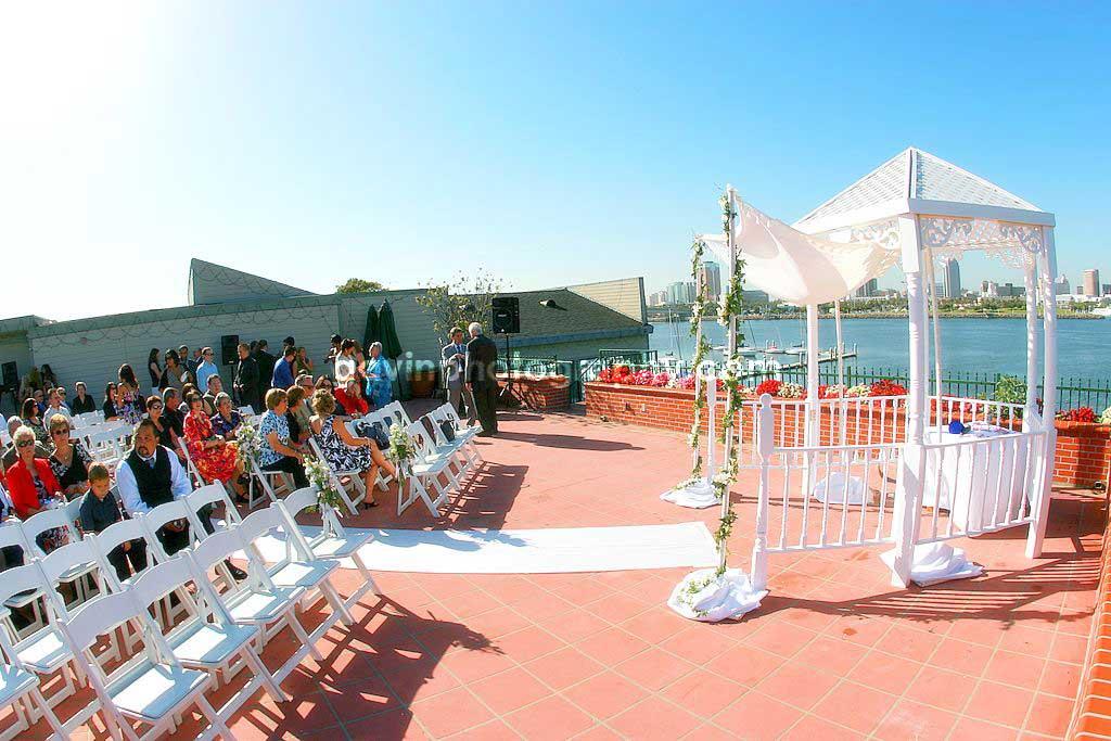 The Reef In Long Beach Wedding Photograph Description